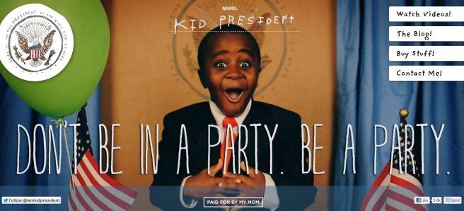 Kid President website