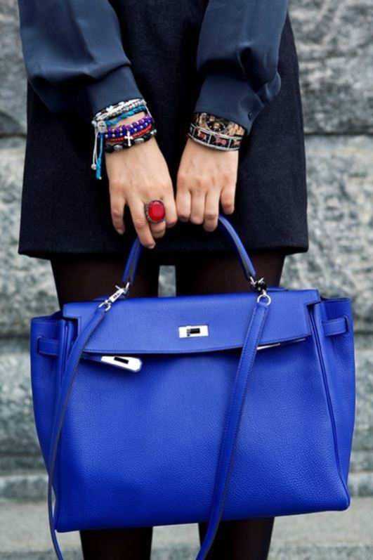 royal blue cobalt bag