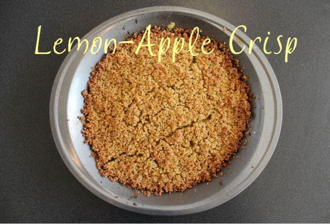 gluten-free, dairy-free, mostly sugar-free apple crisp dessert recipe