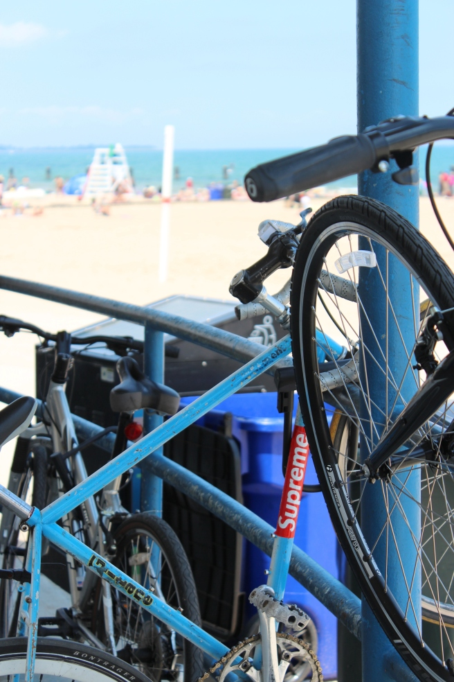 Chicago Beach and Bikes