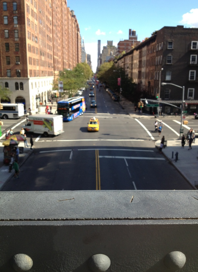 View from the High Line.