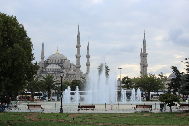 Sultanahmet, aka the 'Blue' Mosque.