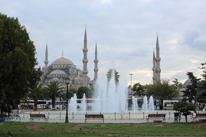 Sultanahmet, aka the 'Blue' Mosque.