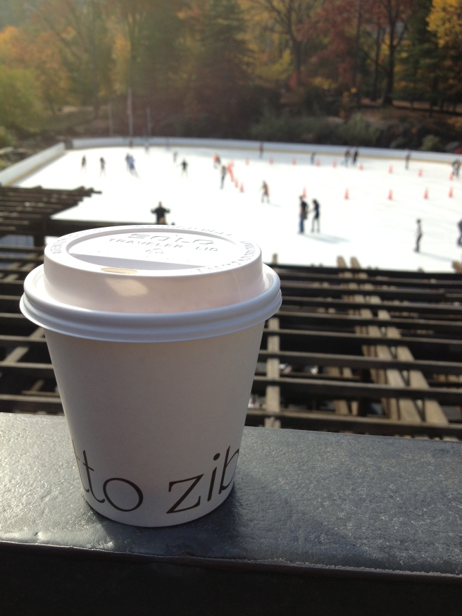 Fantastic espresso followed by Central Park...a brisk (ha) 65 degree day in November!
