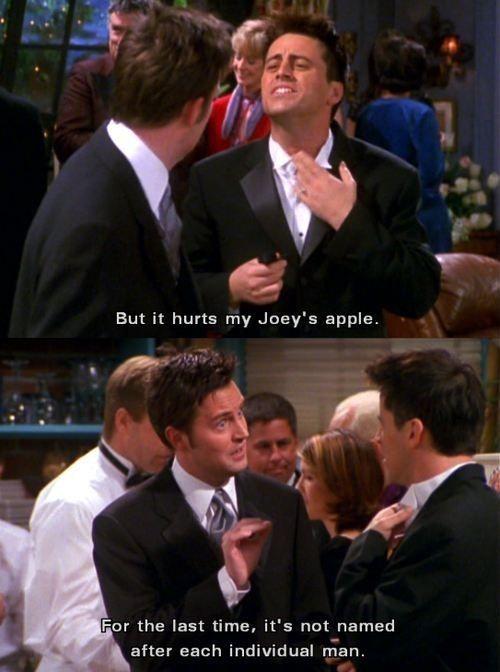 friends still joey adams apple