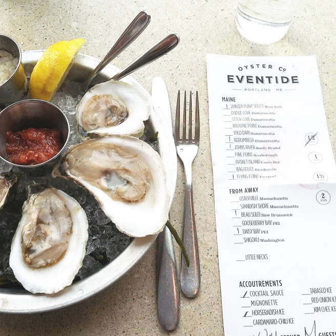 Eventide Portland Maine Seafood Restaurant