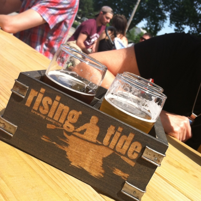 Rising Tide Brewery Portland Maine